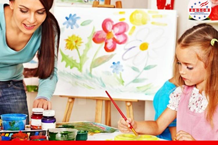 Çocuk Grupları için Resim Kursu